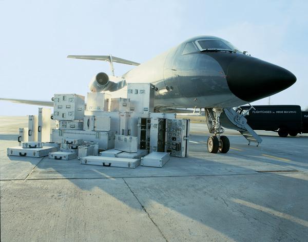 Flightcase in Aluminium 1988