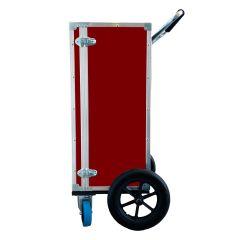 Mobility 16 Cart Carrier i rød laminat