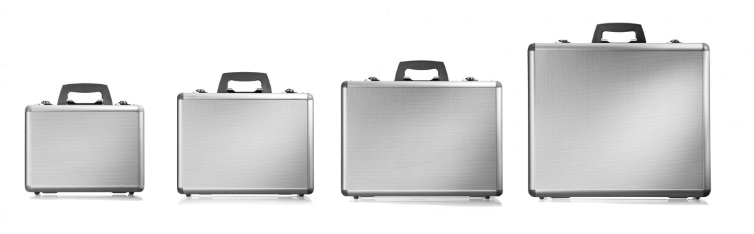 Aluminium Kufferter Oversigt